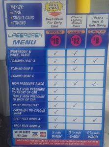 Car Wash Hervey Bay Prices
