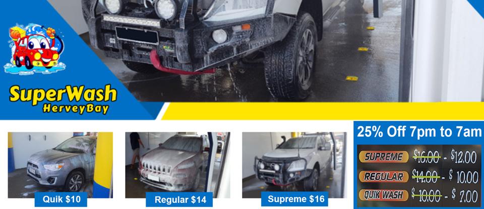 Car Wash Hervey Bay